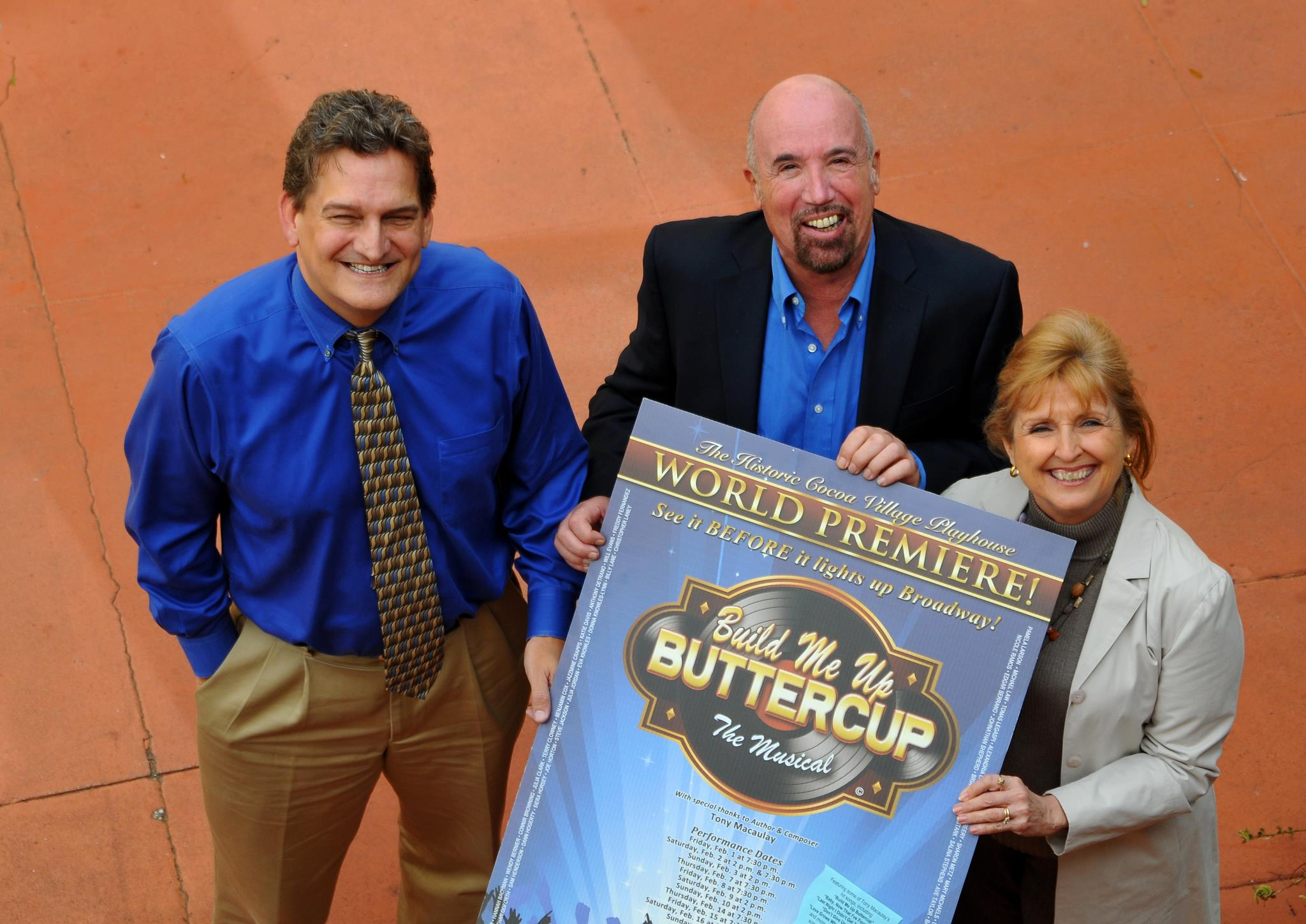 Build Me Up, Buttercup–The Musical (World Premiere)
